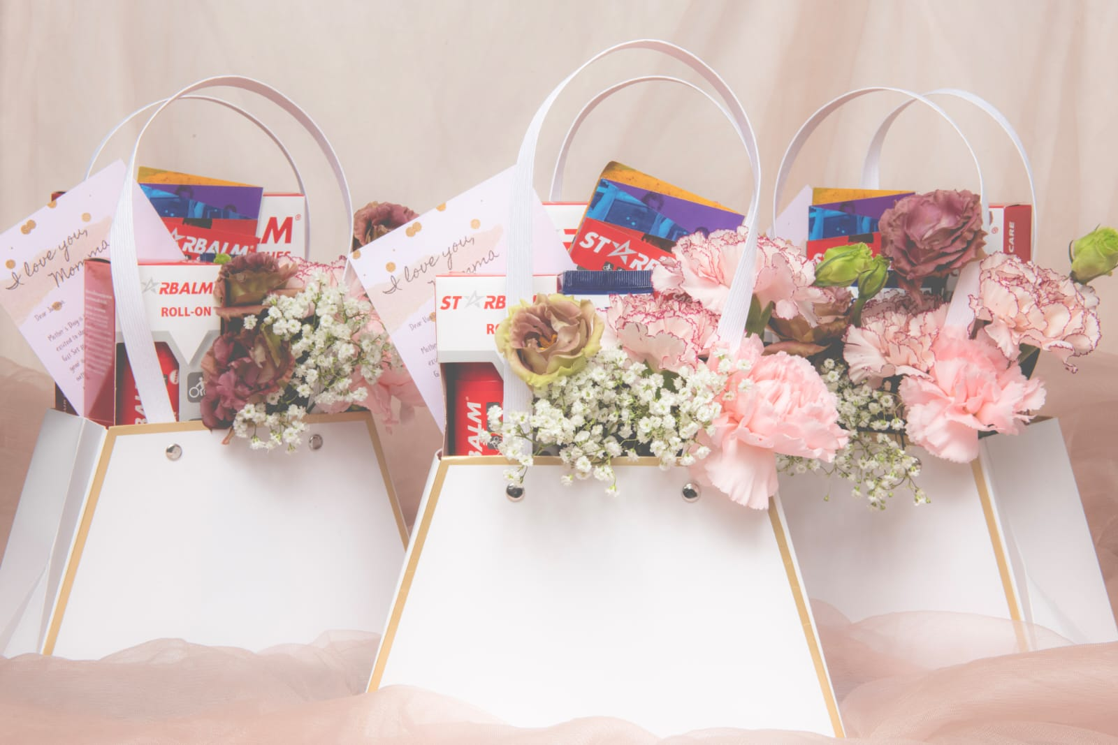 MOM, We Care for You (Floral Bag x Starbalm)