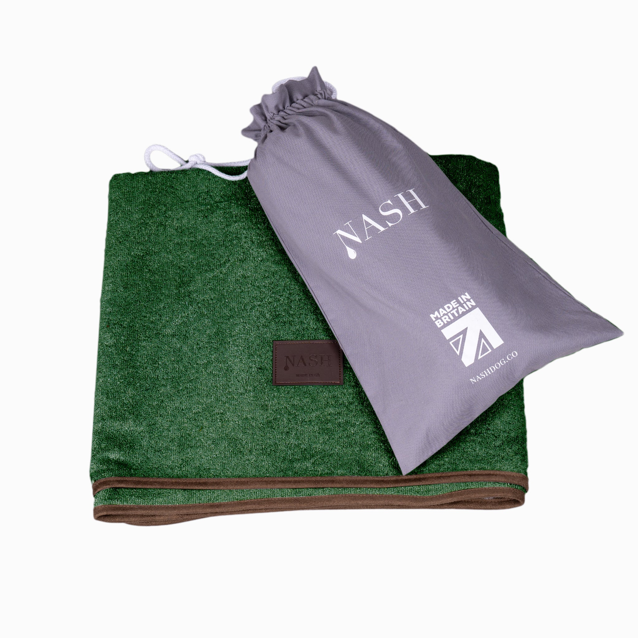 Bamboo Throw - Forest - Shop Bamboo Dog Drying Coats, bed covers, drying mitts & throw Online!
