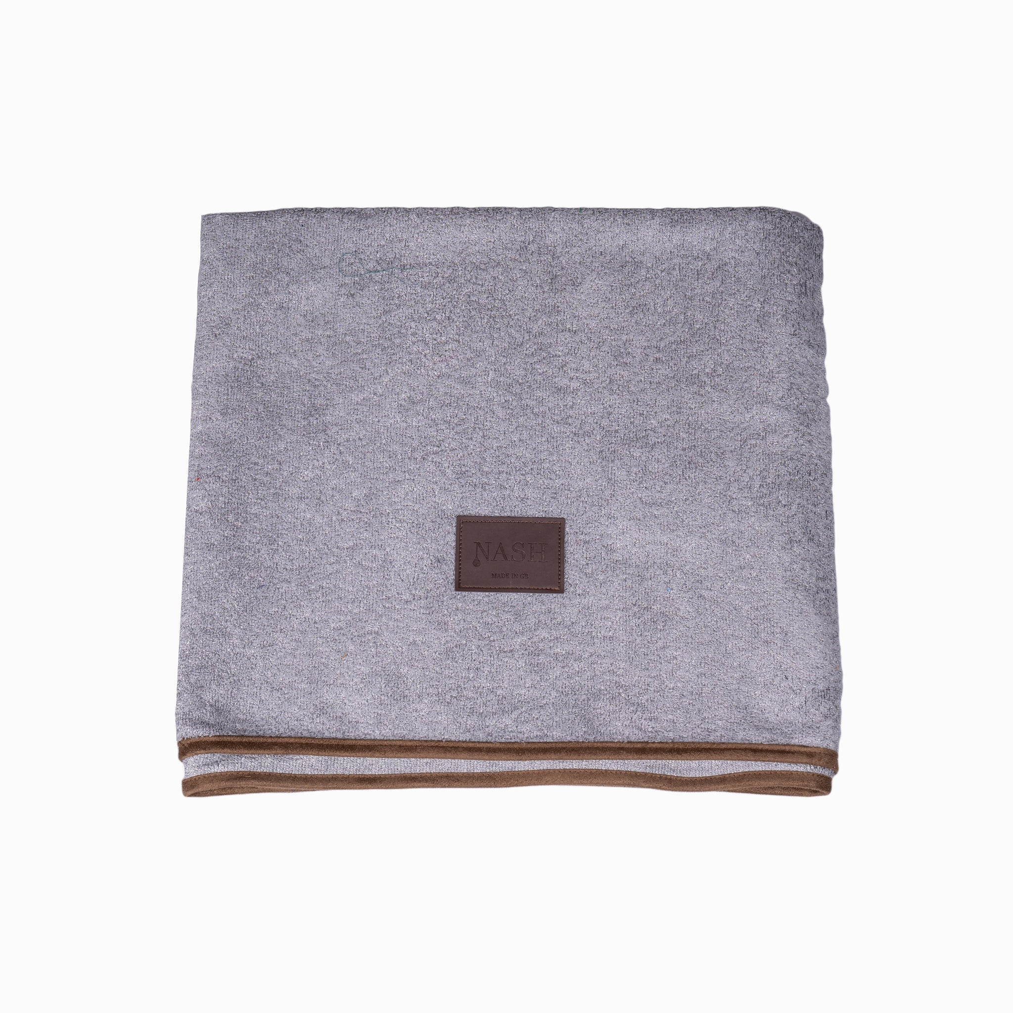 Bamboo Throw - Grey - Shop Bamboo Dog Drying Coats, bed covers, drying mitts & throw Online!
