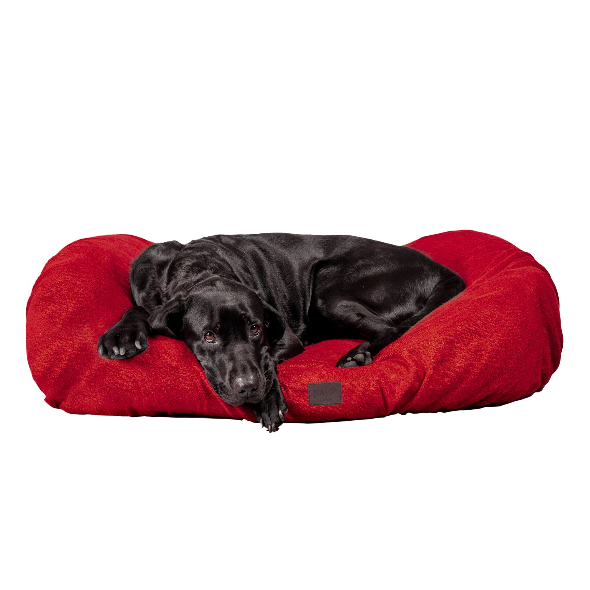 Bamboo Dog Bed Cover - Red - Shop Bamboo Dog Drying Coats, bed covers, drying mitts & throw Online!