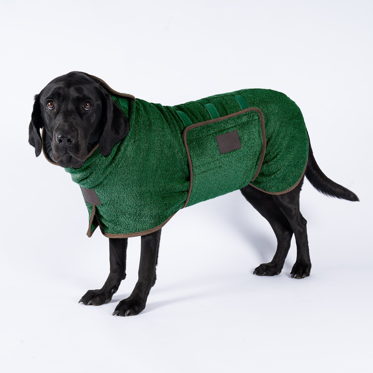 Bamboo Drying Coat - Forest - Shop Bamboo Dog Drying Coats, bed covers, drying mitts & throw Online!
