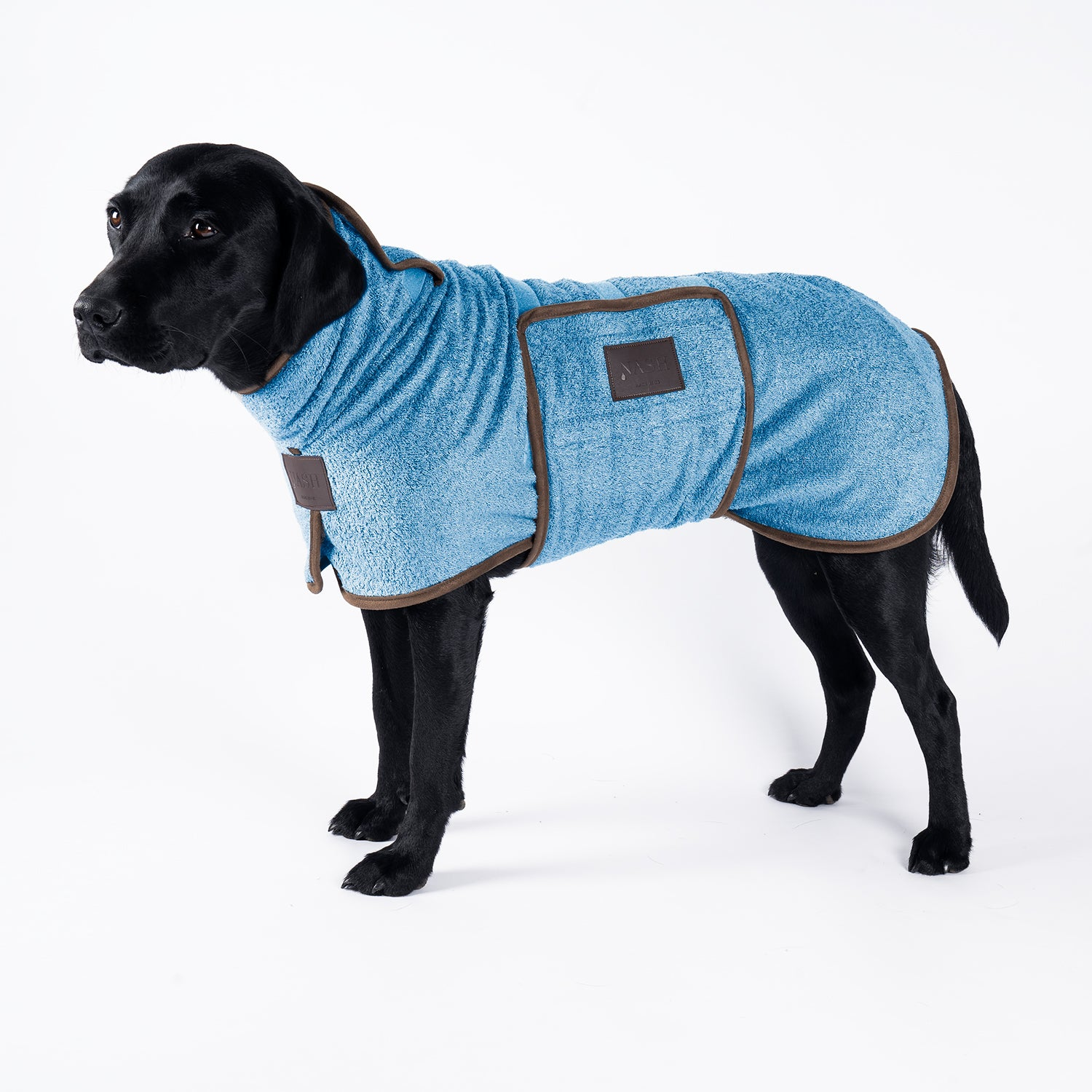 Bamboo Drying Coat - Cambridge - Shop Bamboo Dog Drying Coats, bed covers, drying mitts & throw Online!