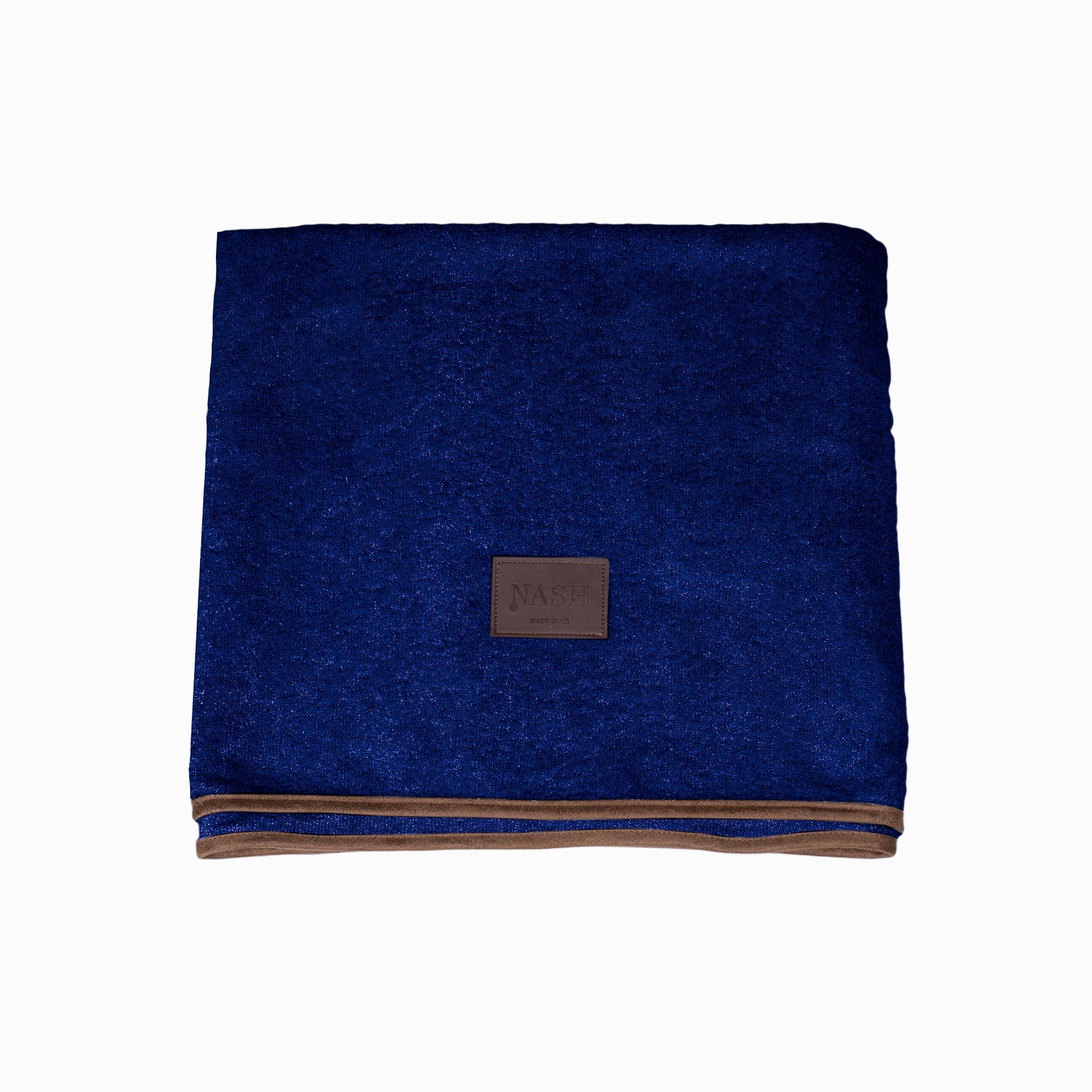 Bamboo Throw - Navy - Shop Bamboo Dog Drying Coats, bed covers, drying mitts & throw Online!