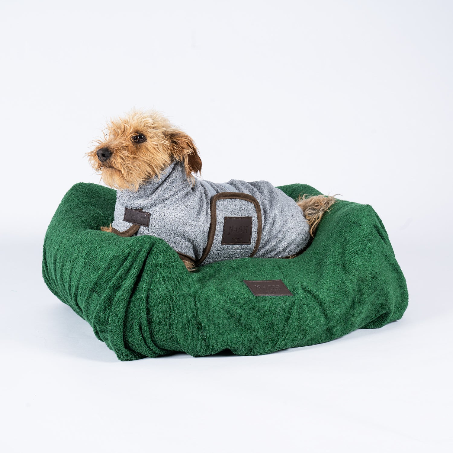 Bamboo Dog Bed Cover - Forest - Shop Bamboo Dog Drying Coats, bed covers, drying mitts & throw Online!
