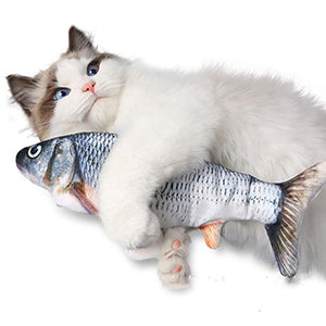3d Electronic fish Cat Toy 🐟