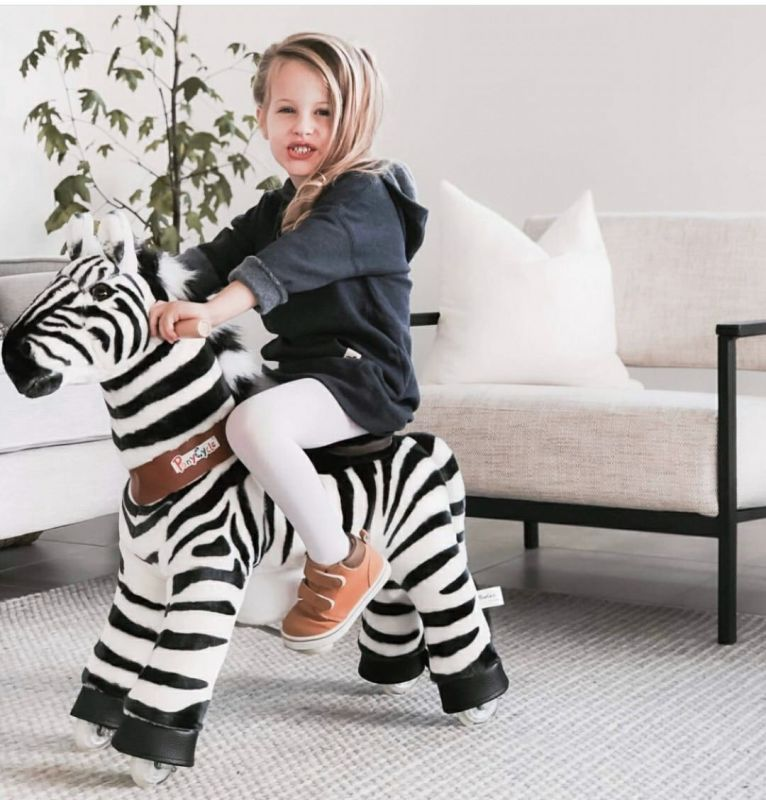 PonyCycle U Zebra for Age 4-9