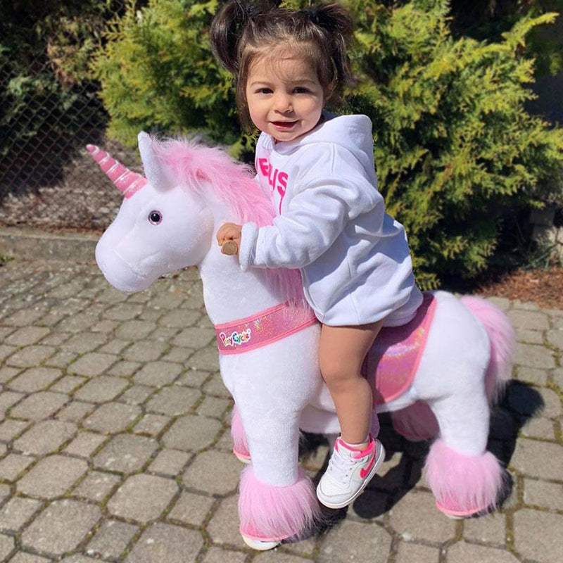 PonyCycle U Pink Unicorn for Age 3-5