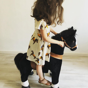 PonyCycle U Ride on Horse Black for Age 3-5