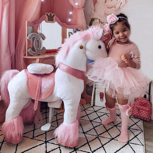 PonyCycle U Pink Unicorn for Age 4-9
