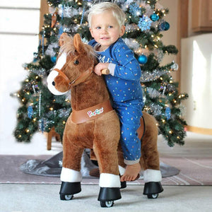 PonyCycle U Brown Horse for Age 3-5