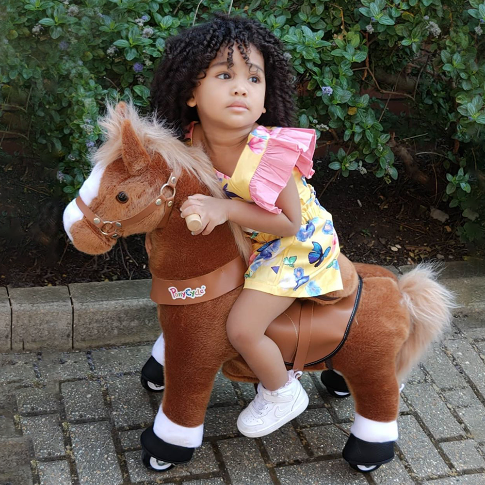 PonyCycle U Brown Horse for age 4-9