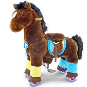 PonyCycle® K Dark Brown Horse K35 for Age 3-5