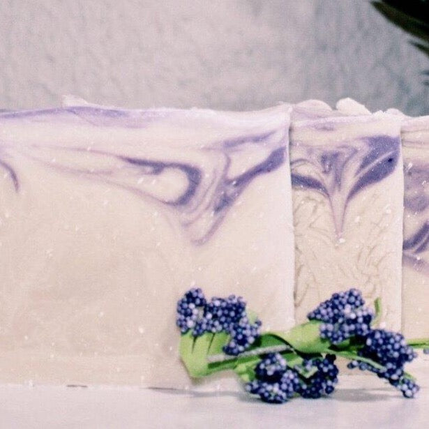 Premium Organic Bar Soap with Lavender Essential Oil