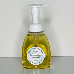 Organic Liquid Foaming Soap