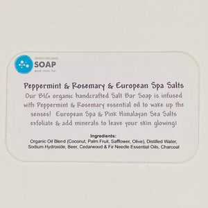 European Spa Salt Soap Bar