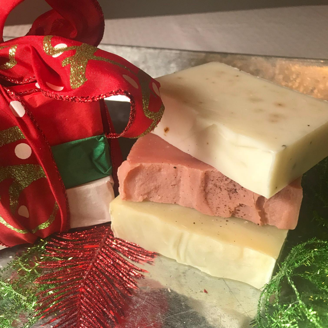 Scents of the Season - 3 Bar Organic Soap Trio