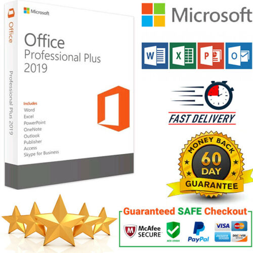 Microsoft Office 2019 Professional Plus  Original license key