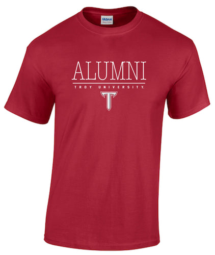 Troy University Alumni Short Sleeve T-shirt
