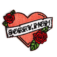 Sorry Mom Heart Patch