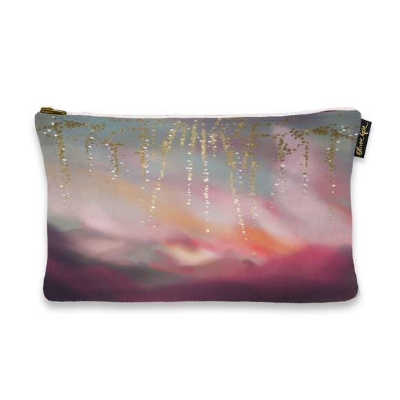 Pink Sunset Cosmetic Bag