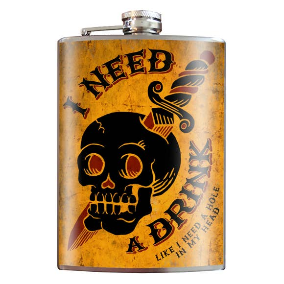 I Need A Drink Flask