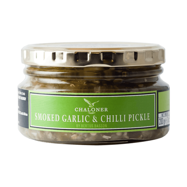 SMOKED GARLIC & CHILLI PICKLE - 200G