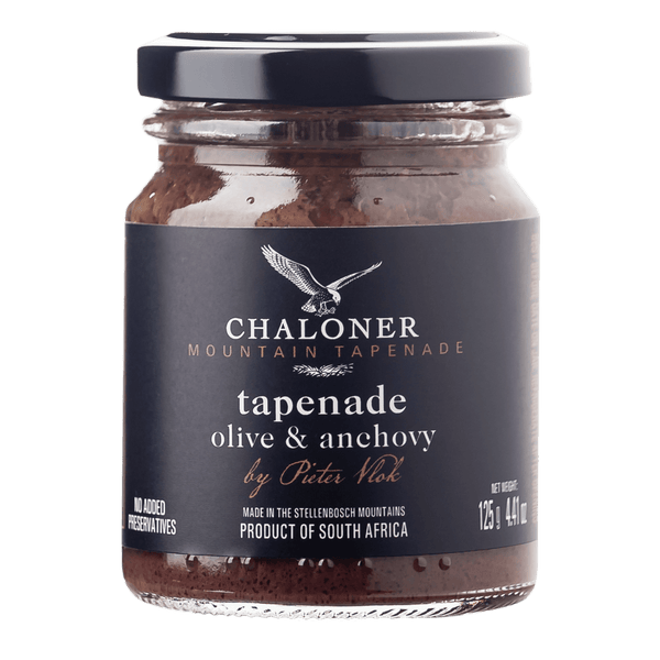 TRADITIONAL TAPENADE WITH OLIVE & ANCHOVY