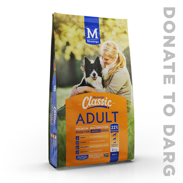 MONTEGO CLASSIC ADULT DOG FOOD
