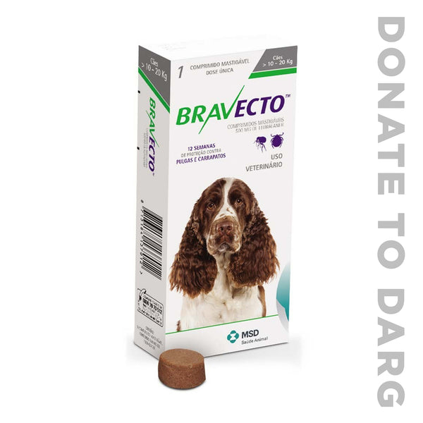 BRAVECTO FOR MEDIUM DOGS (10 - 20KG)
