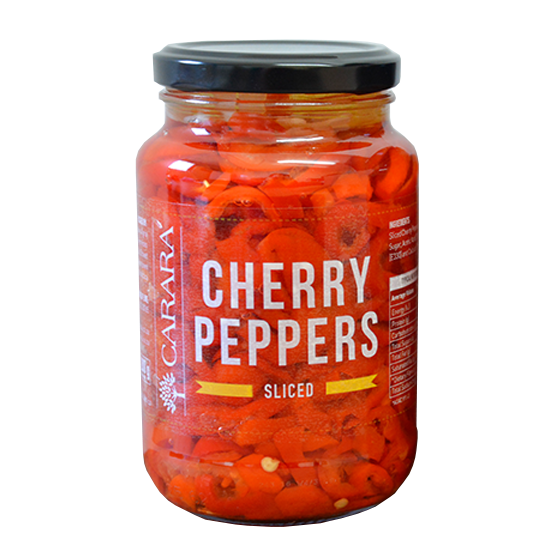 CHERRY PEPPERS - SLICED 375ML