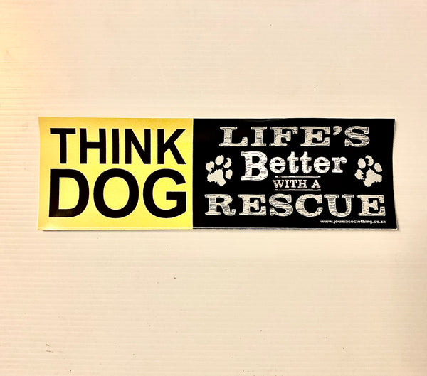 Think Dog Sticker