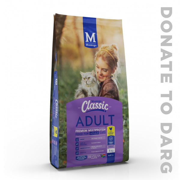 MONTEGO CLASSIC CAT FOOD