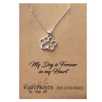 PAW STERLING SILVER NECKLACE