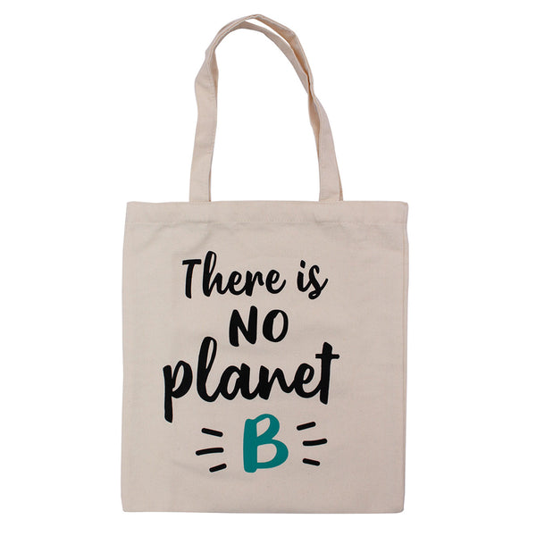 CANVAS TOTE BAG - PLANET B