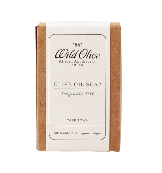 WILD OLIVE - OLIVE OIL SOAP - FRAGRANCE FREE