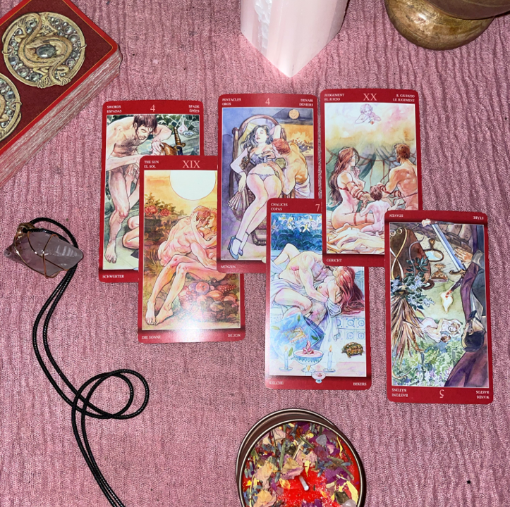 Extended Love Tarot Reading