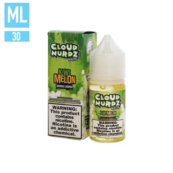 Kiwi Melon by Cloud Nurdz Salts 30ML SALTNIC