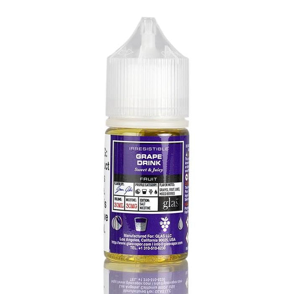 Grape Drink by Glas Basix Salts 30ML SALTNIC