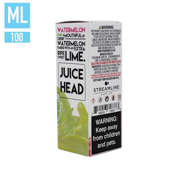 Watermelon Lime by Juice Head 100ml