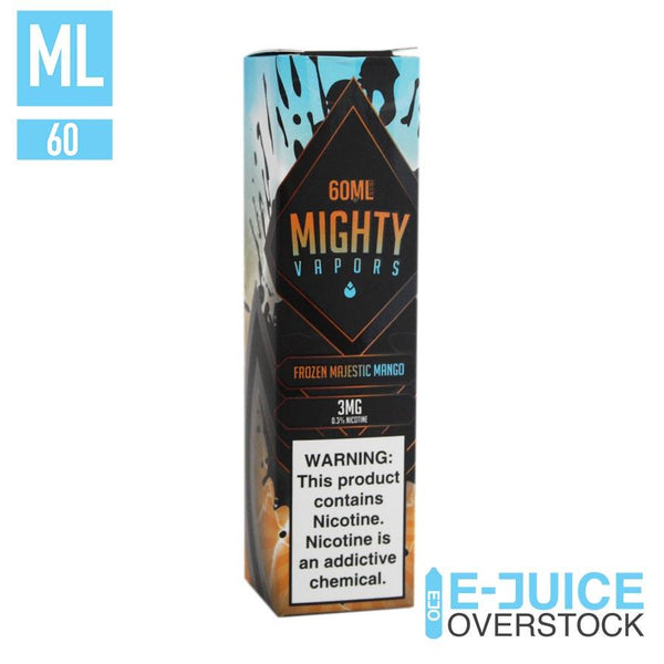 Frozen Majestic Mango by Mighty Vapors CLEARANCE 60ML EJUCE