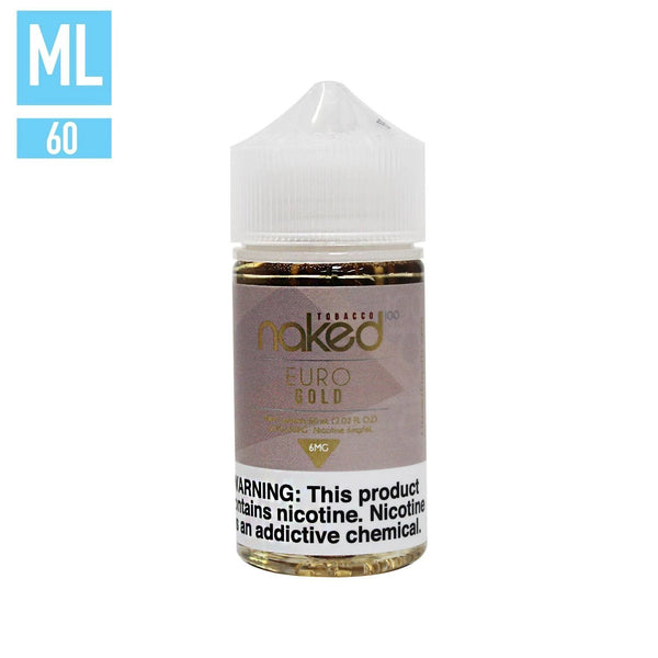 Euro Gold by Naked 100 60ML EJUICE