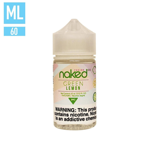 Green Lemon by Naked 100 60ML EJUICE