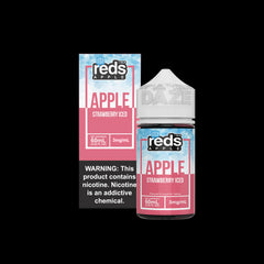 Strawberry Iced Reds Apple by Reds Apple 60ML Ejuice