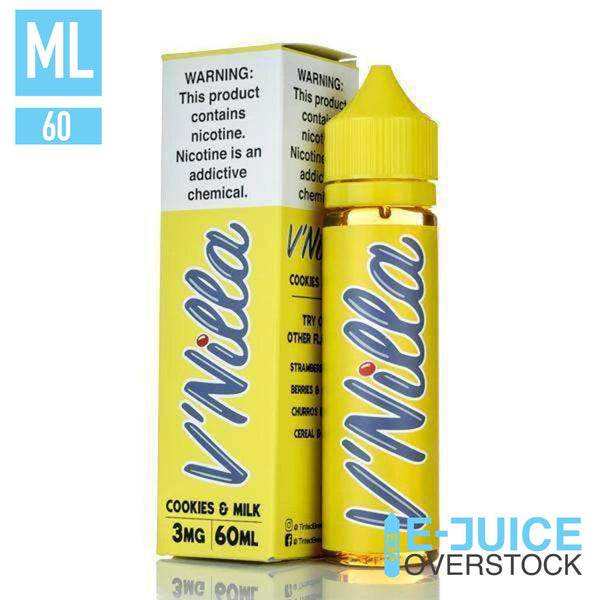 Cookies & Milk V'Nilla  By Tinted Brew 60ML
