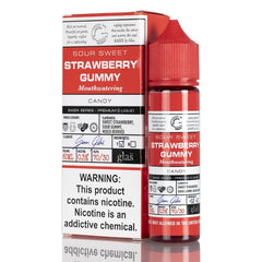 Strawberry Blast by Glas Basix Series 60ML EJUICE