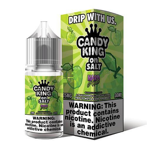 Hard Apple by Candy King On Salt 30ML SALTNIC
