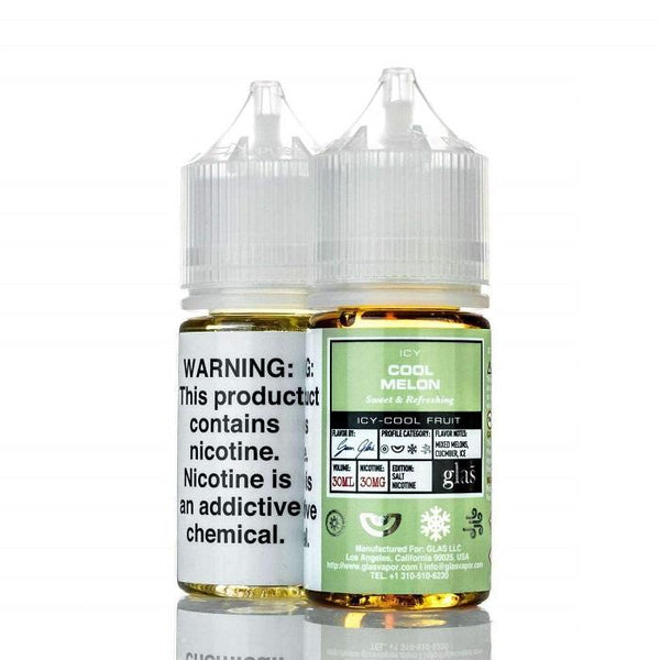 Icy Cool Melon by Glas Basix Salts 30ML SALTNIC