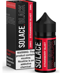 Strawberry Blast by Solace Black Salts 30ml