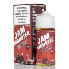 Strawberry By Jam Monster 100ml EJUICE