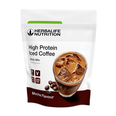 High Protein Iced Coffee gusto Mocha 308 gr - Herbalife